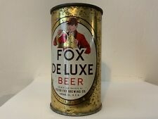 New ListingFox Deluxe Beer Flat Top With Original Chicago Labeled Lid Pf Brewing Ill