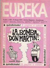 EUREKA n. 33 - EDITORIALE CORNO - GIUGNO 1970