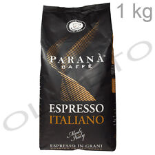 Kaffeebohnen Espresso Italiano 1 kg Beutel Kaffee Caffe - Parana