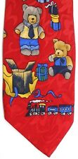 """Florence Men's Novelty Polyester Tie 61.5"""" X 3.75"""" Christmas Morning"""