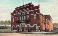 THE ROHRBAUGH THEATRE Ottawa, Kansas ca 1910s Vintage Postcard