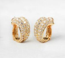 Yellow Gold Diamond Fine Earrings