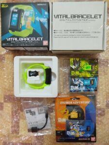 Brand New unopen Digimon Digital Vital Bracelet Special Green+Dim Card Adventure