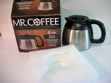 Mr Coffee Thermal Carafe Pot 8 C fits  BVMC SJX33GT Stainless Steel #DRD95 Decan