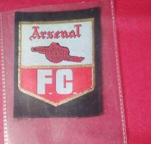 Football Club Badges. Arsenal woven badge.