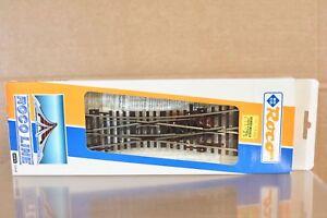ROCO LINE 42448 EKW15 LONG CROSSING POINT SWITCH TRACK 15 Degree 230mm long nq