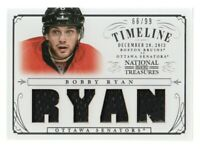 2013-14 National Treasures Timeline Jersey #T-BR Bobby Ryan /99 Senators