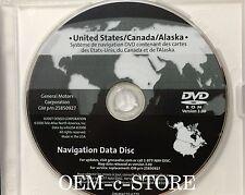 Only 2008 2009 2010 Hummer H2 SUT Sport Navigation OEM DVD Map U.S Canada Disc