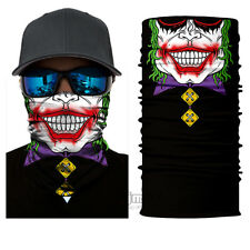 Fun Gift Party Bandana Face Mask Motorcycle Biker Clown Neck Tube Scarf US STOCK