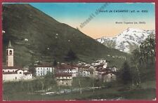 LECCO CASARGO 10b VALSASSINA - MONTE LEGNONE Cartolina viaggiata 1935