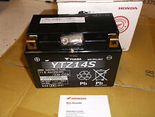 GENUINE HONDA YUASA YTZ14S YTZ 14S HONDA ETC,QUALITY BATTERY
