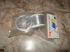 RC Slingshot Rims Front Nitro Rustler & Stampede Traxxas Chrome Wheels RPM 81903