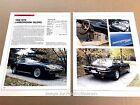 Lamborghini Islero Original Car Review Print Article J670 1968 1969 1970