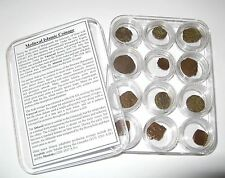 Antica moneta collezione 12 islamico MEDIEVALE S A degli omayyadi Eclissi W Argento DIRHAM