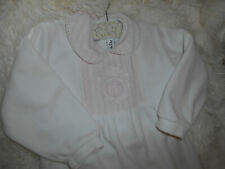 BABY DIOR pyjama 24 mois blanc et rose