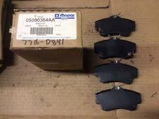 New Factory OEM Mopar Disc Brake Pad Pads 05086364AA