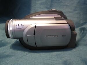 Panasonic VDR-D210 DVD Camcorder w /Battery/NO Charger -  Works Great