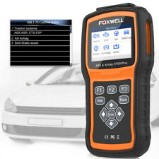 Foxwell NT630 Car Auto OBD2 EOBD Diagnostic Scan Engine+ABS+SAS+SRS Reset Tool