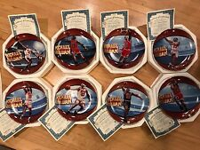 Michael Jordan His Airness Collector Plates-Full Set of 8 with Coa's