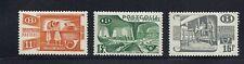 Belgio 1950 Pacco Postale (3 Valore) Scott Q328 330 e 332 VF Mlh