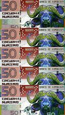 LOT Kamberra, POLYMER, 5 x 50 Numismas, China Lunar Year 2009, UNC > Ox