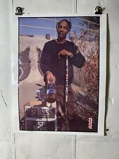 New listing 1994 Htf Rare St. Ides Malt Liquor Raptees Snoop Dogg Advertising Poster Unused