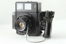 【EXC+++++】MAMIYA PRESS SUPER23 w/ 100mm F3.5 Lens, Grip, 6x9 Back FromJAPAN #124