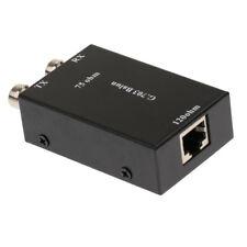Convertisseur BNC vers RJ45 Adaptateur Ethernet Transceiver vidéo Balun