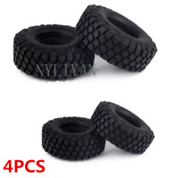 "1.9"" 4PCS Rubber Wheels Tires 115mm For 1/10 RC Car Climbing Rock Crawler Truck"