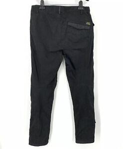 Maharishi Military Skinny Pants Medium Black Men's 30 X 30