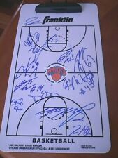 2019 & 2020 New York Knicks Team Signed Clipboard