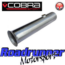 "Cobra Sport Clio RS 200 De-cat Pipe Exhaust 2.5"" Stainless Cat Replacement RN06"