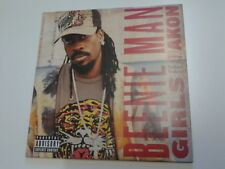 Beenie Man feat. Akon Girls Promo CD Single (incls Instrumental)
