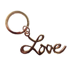 Love Keychain Rose Gold Sex and the City Movie Key Ring Chain Louise Carrie SATC