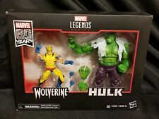 Marvel Legends 80th anniversary 1st appearance Wolverine vs The Hulk SDCC 2019