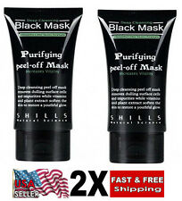 2X Shills blackhead remover Deep Cleansing purifying peel acne mud face mask