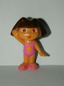 2005 Dora the Explorer in Bathing Suit PVC Toy Figure Beach Pool Mattel Viacom
