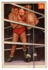 1X BIG BEN MORGAN 1954 55 Parkhurst #24 P/F Wrestling V337-1 AWA NWA WWE WWF