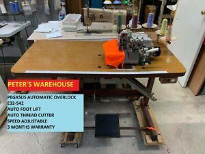 INDUSTRIAL AUTOMATIC OVERLOCK PEGASUS E32-542 3/5