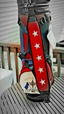 MOST RARE ! 2001 RYDER CUP GOLF BAG NEW W/ ALL TAGS BELDING-  911 NOT PLAYED