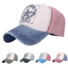 Vintage Baseball Cap Men Women Adjustable Denim Distressed Trucker Hat Unisex