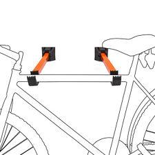 2er Set Fahrrad Wandhalterung Fahrradaufhängung Fahrradwandhalter Wand Decke