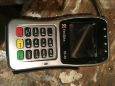 first data Fd-40 card reader w chip id credit card processer good working order