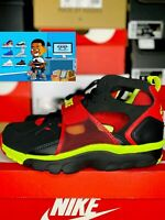 Nike Air Trainer Huarache Black University Red-Volt Men's Size 9 679083-020