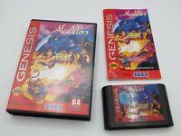 Disney's Aladdin (Sega Genesis, 1993)  Complete in Box - CIB