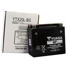 YUASA MOTORRAD-BATTERIE YTX20L-BS YTX 20L-BS NEU !!!