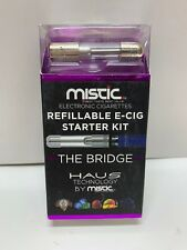 Mistic Electronic Cigarettes Refillable E-Cig Starter Kit` Tank,Battery,Charger