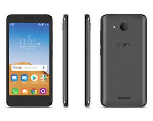 Alcatel Cellphone Tetra 5041C - 16GB - Black SmartPhone AS IS - NO RETURNS