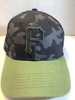⚾️Pittsburgh Pirates Team MLB Promotional CAMO SnapBack Hat/Cap~AT&T