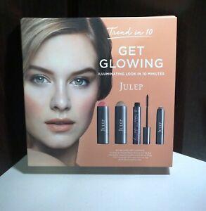 NIB JULEP Trend in 10 Get Glowing Kit Fair ~ Blush Stick Golden Guava Sheer Glow